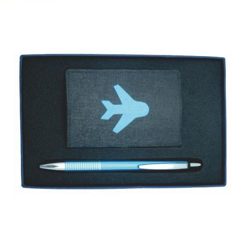 18-A01030400-6033 名片盒+造型原子筆