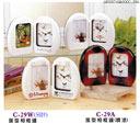 禮品 贈品 禮贈品 禮品公司-AEB07434600C-29A - 蛋型相框鐘(噴漆)